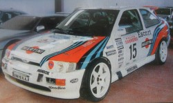 FORD ESCORT COSWORTH Gr. A MARTINI Ex Jolly Club