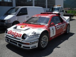 FORD RS 200 Gr. B ex ufficiale